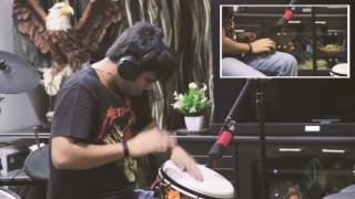 vuclip Taal Se Taal (Western) - Djembe & Ghungroo (Cover)
