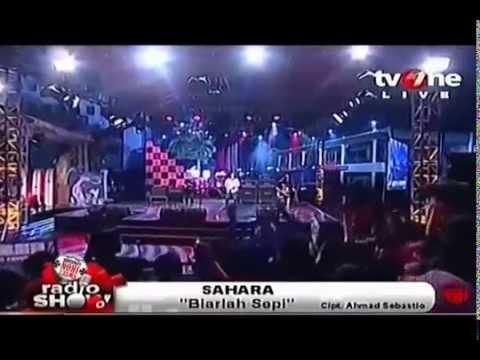 Sahara   Biarlah Sepi Live Radio Show