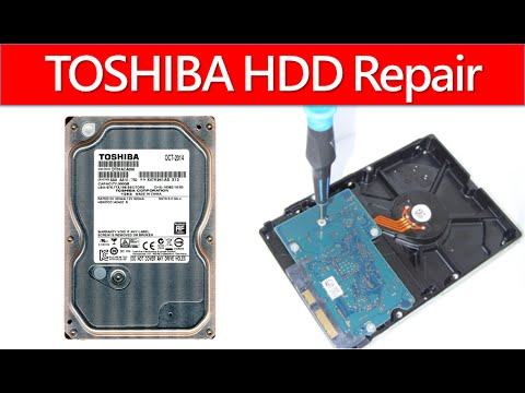Toshiba Hard Drive Pcb Board Repair Disk Data Recovery 0a90337