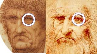 2495【05】Moles ofJesus Christ, created by Leonardo himselfイエスのイボ+キリストはダビンチ自身だったのか?by Hiroshi Hayashi, thumbnail