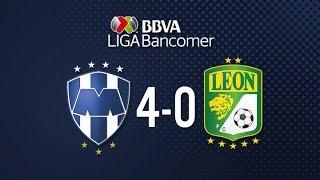 Monterrey vs León 4-0 Jornada 12 Apertura 2015 Liga Bancomer MX - 3 de Octubre 2015