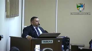4ª Sessão Ordinária - Vereador Walmir Chaveiro
