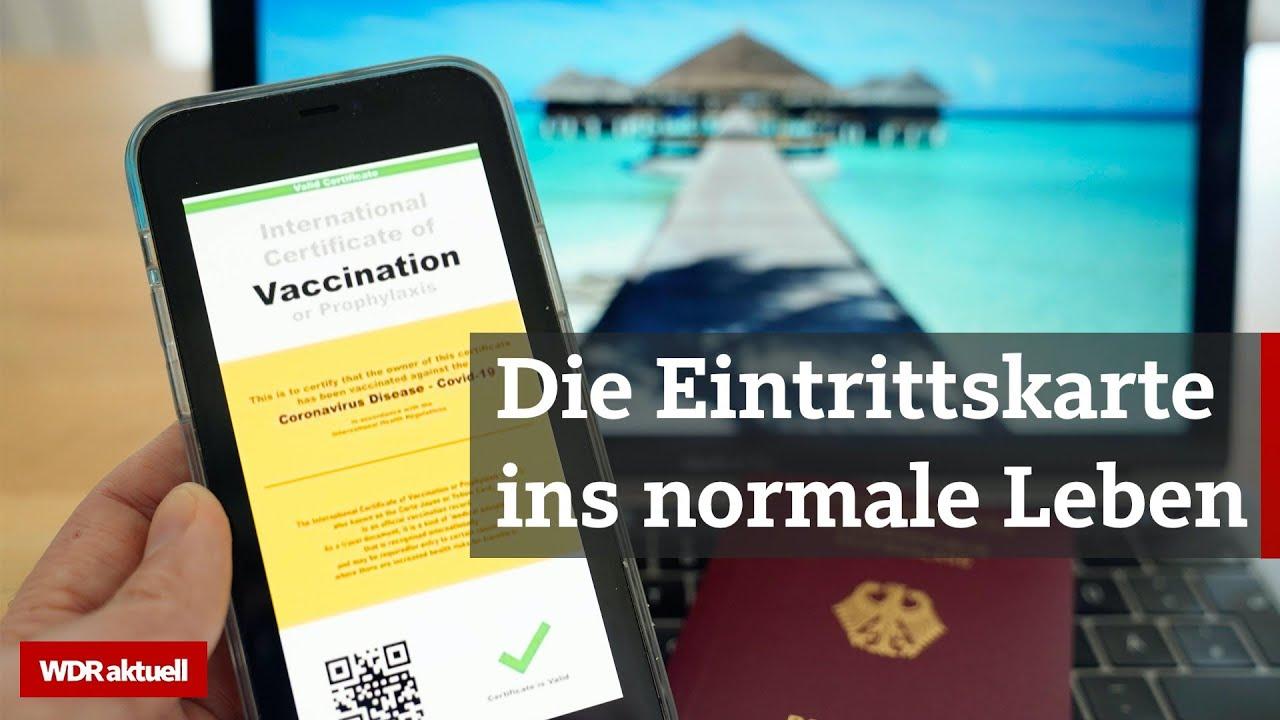 Impfpass: Die Corona-Impfung als Freikarte für Fitnesscenter und Partys | WDR aktuell