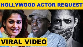 Hollywood actor request to act with Nayathara