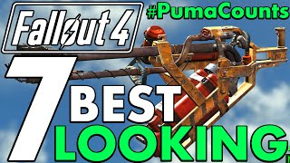 Top 7 Coolest and Best Looking Guns and Weapons in Fallout 4 #PumaCounts