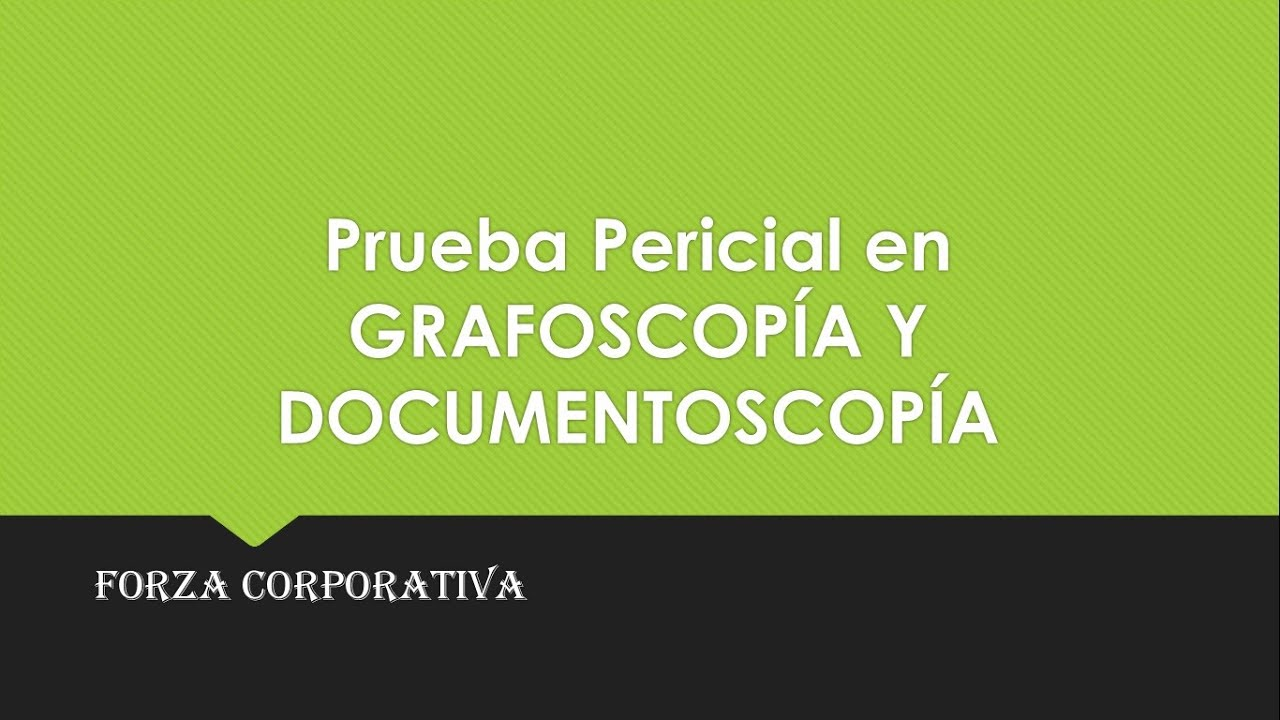 Manual De Grafoscopia Pdf
