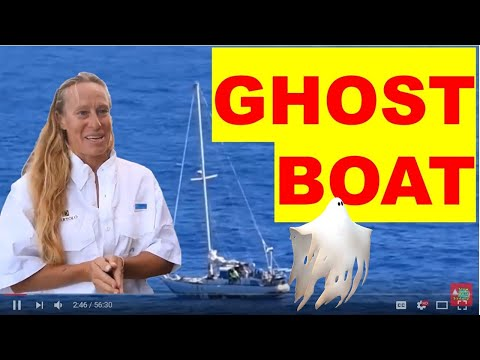 SAILING MYSTERY, GHOST BOAT, SEA NYMPH, found in VOR | Exclu