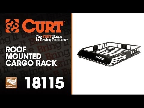 CURT 18115 Roof Mounted Cargo Rack