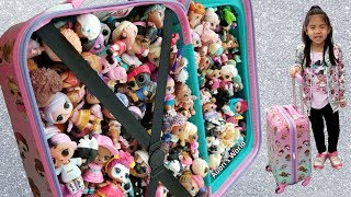 LOL Surprise Collection on Vacation | L.O.L. All Series Dolls + Pets in Suitcase
