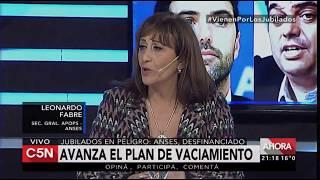 "Leonardo Fabre cruzó a Mirta Tundis: ""Votaste esta ley perversa""."