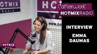 Emma Daumas en interview sur Hotmixradio