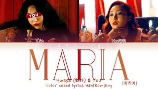Baixar HWASA (화사) ↱ MARIA (마리아) & You ↰ Karaoke (2 members ver.) [Han|Rom|Eng]