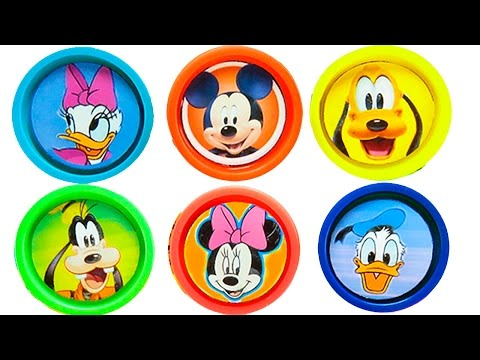 Thumbnail: Plasticine Play doh Mickey Mause Disney Surprise | Plasticina Play doh Mickey y sus amigos