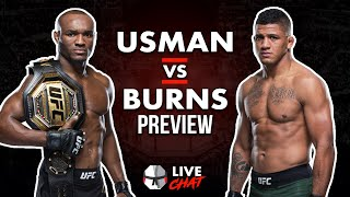 Live Chat: Michael Chandler Surprise Guests, Usman vs Burns Preview & Bellator Gran Prix