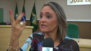 vereadora Rosimeire leva a tribuna da câmara questão social, sobre pleito eleitoral