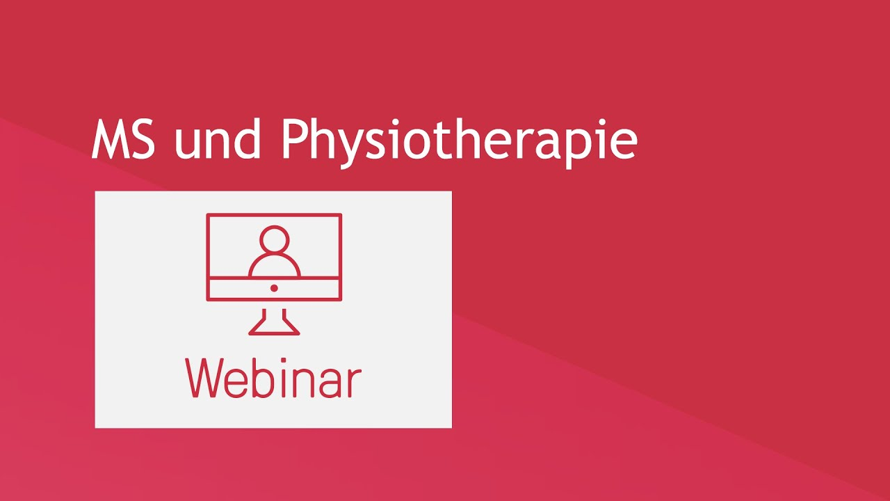 Webinar: MS und Physiotherapie