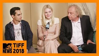 Elle Fanning & Max Minghella on 'Teen Spirit' & Being BTS Fans | TIFF 2018 | MTV News