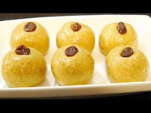 how to make simple ladoo
