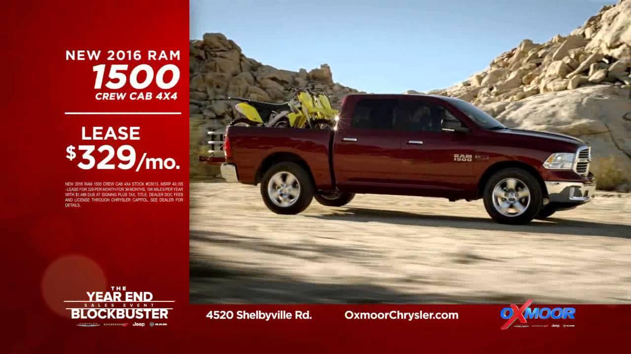 year end blockbuster event at oxmoor chrysler dodge jeep ram youtube. Black Bedroom Furniture Sets. Home Design Ideas