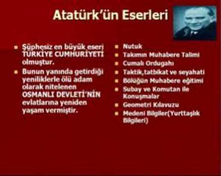 Atatürk'ün Hayatı Power point