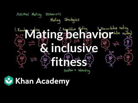Mating behavior and inclusive fitness | Individuals and Society | MCAT | Khan Academy