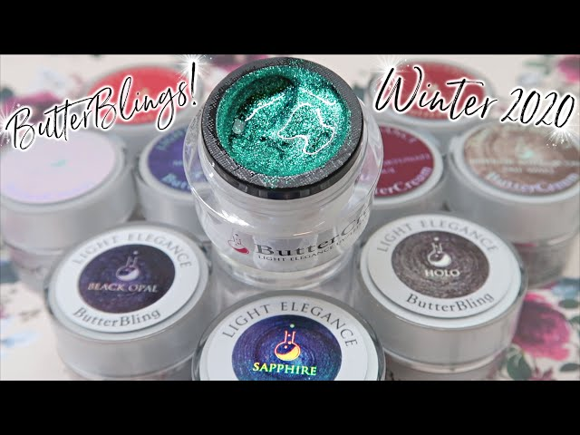 Bling Gels?! | Light Elegance Winter 2020 ButterBLINGS & Buttercreams!
