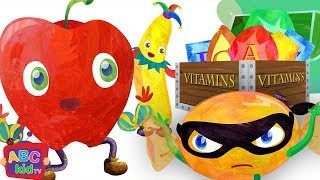 Fruit Song Vitamin Quest 2D  Cocomelon ABCkidTV Nursery Rhymes & Kids Songs