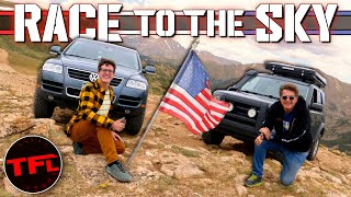 Nail Biter - We Race Two Budget Off-Roaders Up a 12,000 Foot Mountain Top! Montezuma Challenge Ep.1