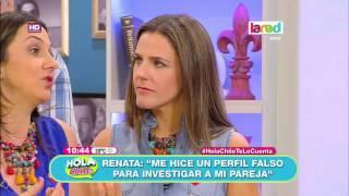 Renata Bravo nos cuenta que se hizo un perfil falso para investigar a un ex pololo