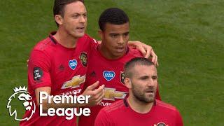 Mason Greenwood smashes home Man United equalizer v. Bournemouth   Premier League   NBC Sports