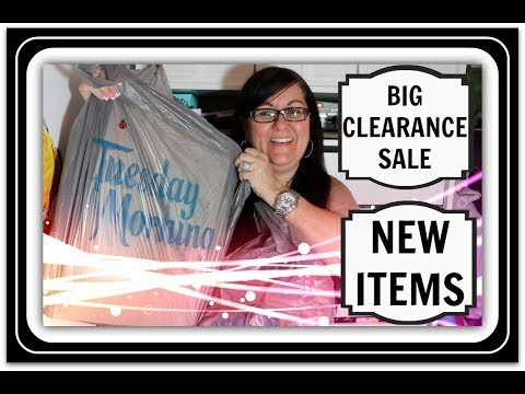 BIG CLEARANCE AND NEW ITEMS AT TUESDAY MORNING