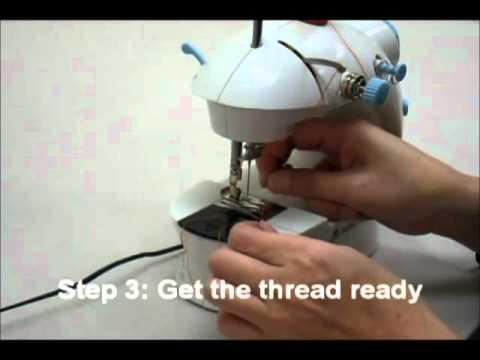 mini electric sewing machine youtube. Black Bedroom Furniture Sets. Home Design Ideas