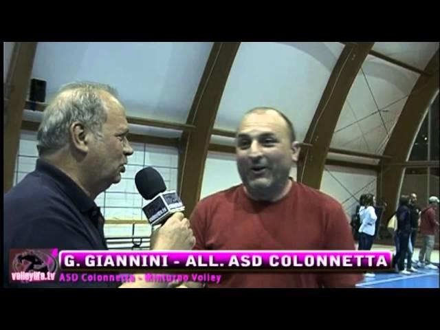 ASD Colonnetta vs Minturno Volley - Servizio - Playoff II° Div. Gara 2 12.05.13