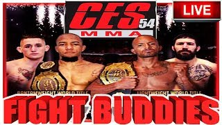 🔴CES MMA 54 | NATE ANDREWS VS BRYCE LOGAN + TONY GRAVELY VS KRIS MOUTINHO LIVE FIGHT REACTION!