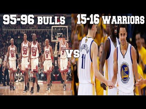 NBA 2K16 MY LEAGUE: 1995-96 BULLS VS 2015-16 WARRIORS