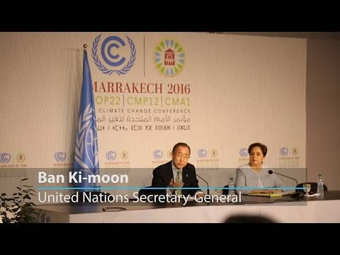 UN chief optimistic, says #ClimateAction is 'a wholehearted commitment by whole world'