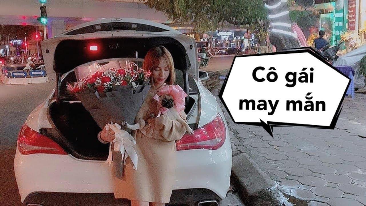 Soái ca nước ngoài đặt 1 ô tô chó và hoa tặng bạn gái Việt Nam - Mật Pet