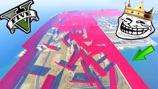 GTA 5 ONLINE 🐷 MEGA LABIRINTO !!! 🐷 GARE TROLL 🐷N*2🐷 GTA 5 ITA GAMEPLAY 🐷 DAJE !!!