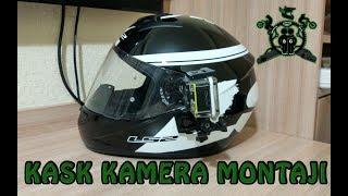 Kask Kamerası Montajı | Sjcam SJ4000| LS2 FF351| | Mounting Action Cam On Helmet