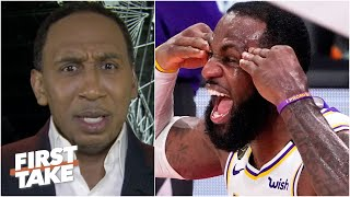 Stephen A. refuses to be labeled as a 'LeBron hater' | First Take