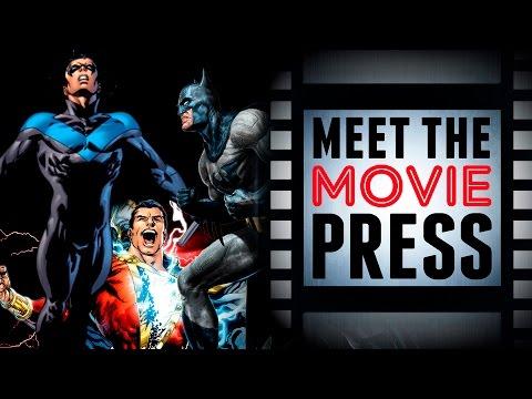 Matt Reeves, Chris McKay, David F. Sandberg - Joining The Hero Movie Train! - Meet The Movie Press