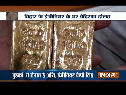 Undisclosed Property Above Rs 5 Crores Recovered from Astt Engineer in Bihar