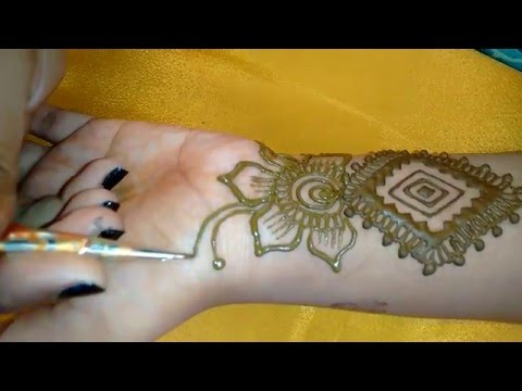 Simple Easy Arabic Mehndi Design For Hands Beautiful Easy Henna