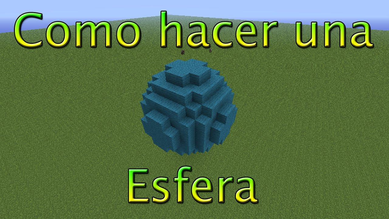 Como hacer una esfera en minecraft recomendado para xbox - Como hacer una claraboya ...