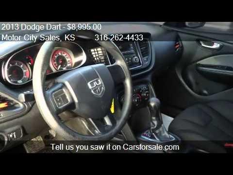 2013 Dodge Dart Se 4dr Sedan For Sale In Wichita Ks 67211