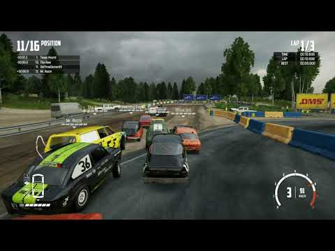 Wreckfest - Continuing Career With the Next 2 Races - Processing for 12 Hours, WHAT???  