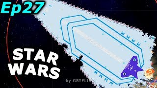Star Wars Mod Bounty Hunter - making holes in a Star Destroyer | Cosmoteer Gameplay Ep27