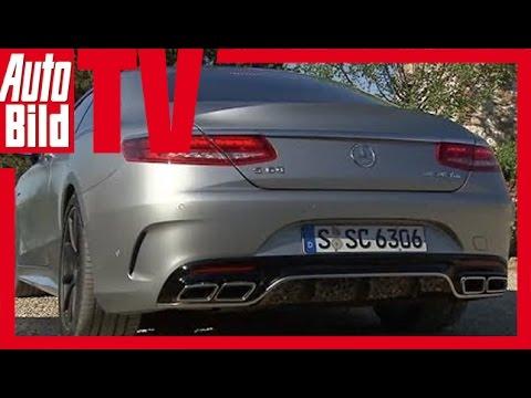 Mercedes S-Klasse Coupé (2014) - Erster Fahrbericht