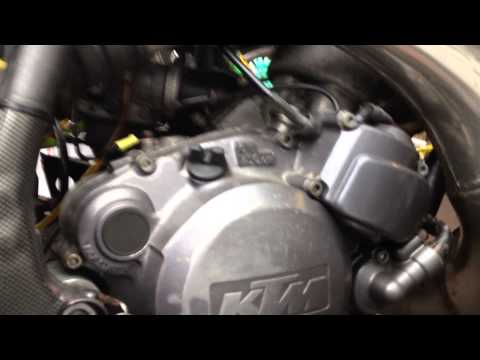 KTM Sting 125cc 1st start after nearly two years RS Killer