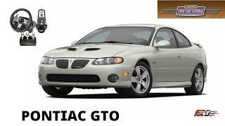 City Car Driving Pontiac GTO тест-драйв, обзор, американская легенда Muscular Logitech G27